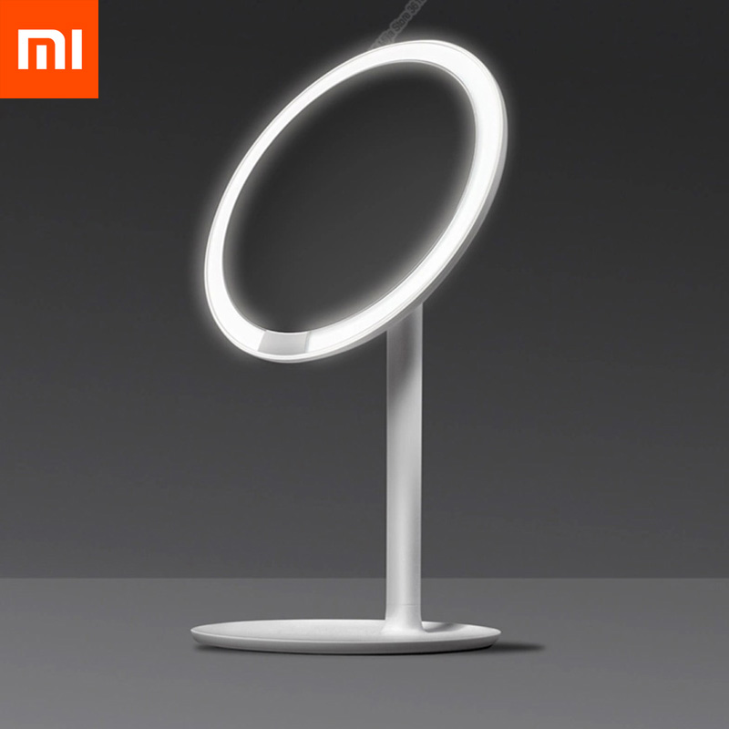 Xiaomi Mijia AMIRO HD Mirror Daylight Cosmetic Makeup Led Mirror Lamp Dimmable Adjustable Countertop 60 Degree