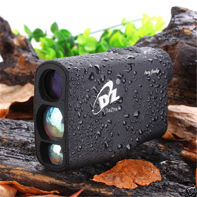 Fast Reading Rangefinders 5-600m Golf Laser Rangefinder with Pinseeker function Monocular Optics Distance Meter  for Hunting simulation mini golf course display toy set with golf club ball flag