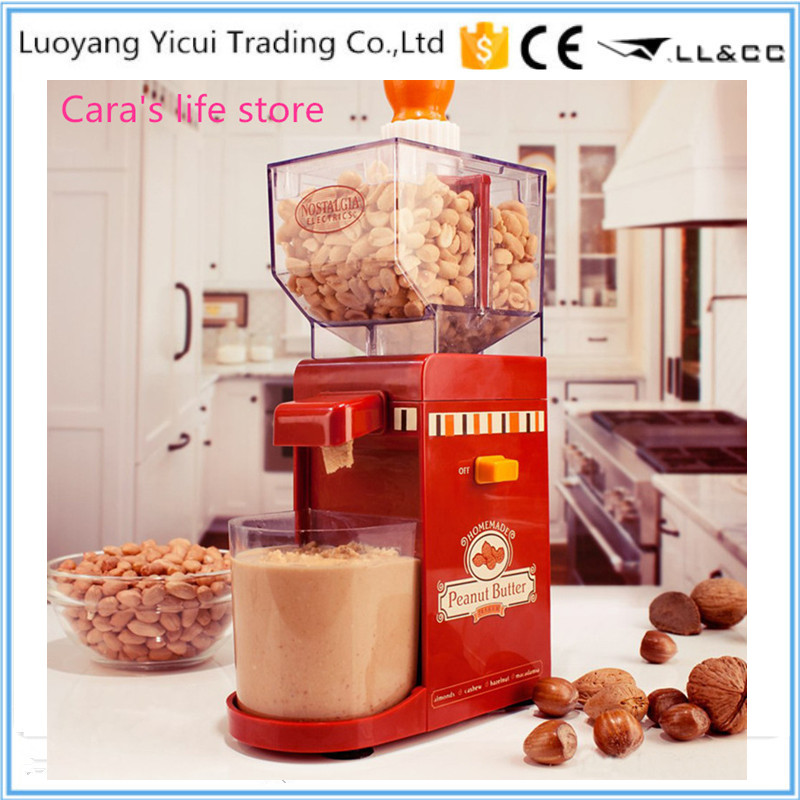 Delicious multifunction peanut butter maker machine