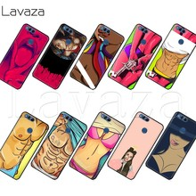 Lavaza Swag girls drawings Muscle man Case for Huawei Honor Nova View 20 9X P20 Y9 5i P Smart Z Prime plus Lite Pro 2019(China)