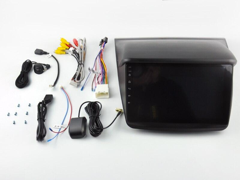 OTOJETA DSP стерео carplay android 8,1 автомобильное радио для Mitsubishi PAJERO спортивные автомобильные аксессуары Gps Ips экран видео магнитофон