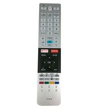 Mới Ban Đầu CT 8536 Điều Khiển từ xa dành cho Toshiba TV với Netflix Google Play Chìa Khóa