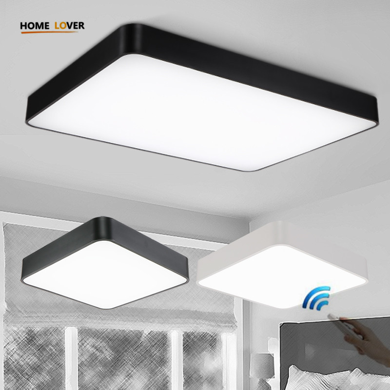 Led Home Lighting Fixtures: New Acrylic Modern Led Ceiling Lights For Living Room