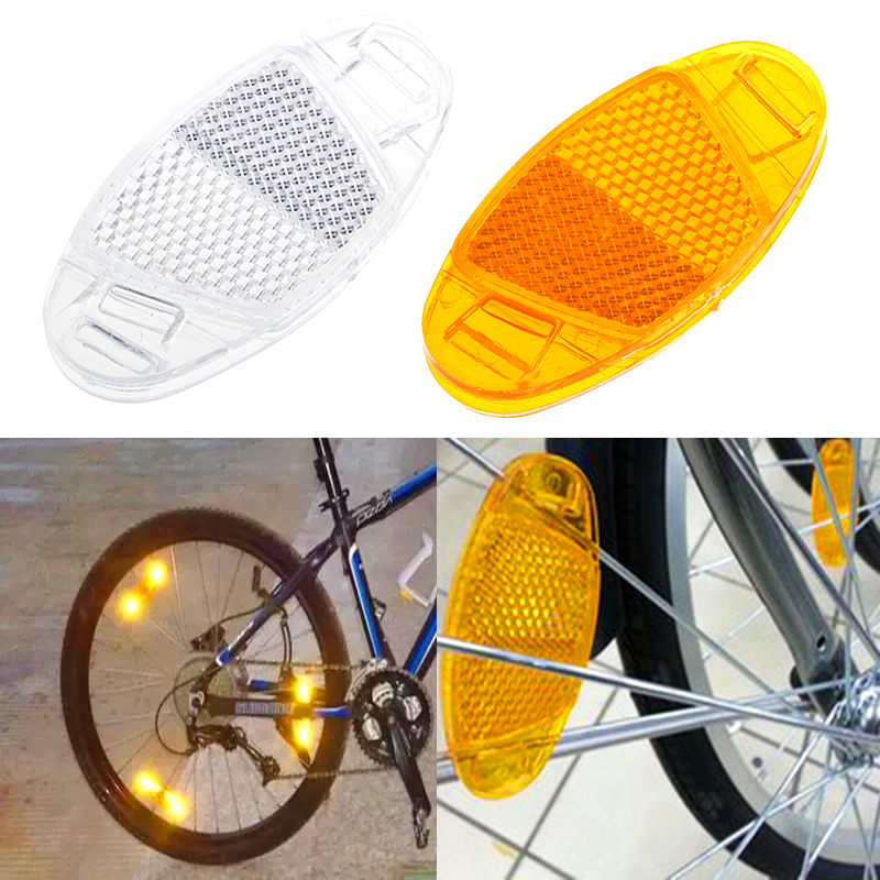 Bicycle Spoke Reflector Safety Assurance Wheel Reflective Warning Light
