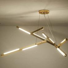 цены Gold Design Lamp Modern Led Chandelier Lighting Living Room Kitchen Dinning Room Light Fixtures Decor Home Metal Lustre 220V