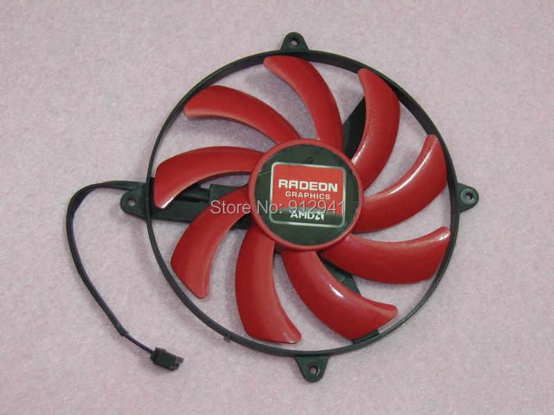 NTK FD7010H12S الرسومات/بطاقة الفيديو مروحة مستديرة استبدال 12 فولت 0.35A 4 سلك 4Pin ل AMD ATI Radeon HD 7990 (3 مروحة نموذج) عدة C