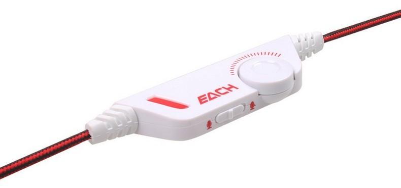 Игровые наушники для компьютера оригинальный kotion каждый g2000 повязка стерео наушники игровые наушники для пк с микрофоном шумоподавление 3,5 мм порт дисплей светодиодный свет
