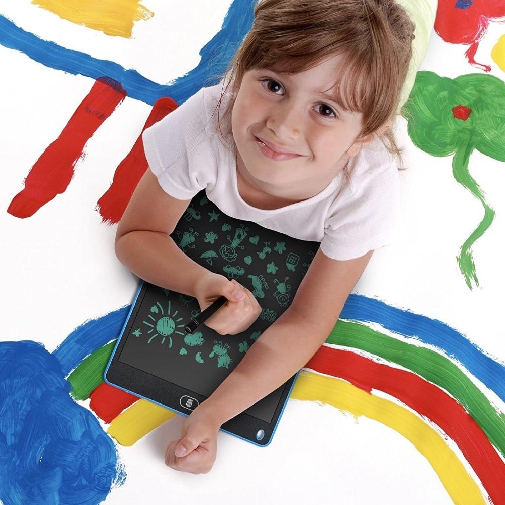 12 zoll LCD Schreibtablett für kind Tragbare Elektronische schreiben 8,5 '' Pads Nachricht Doodle Memo Grafiken Graffiti Reißbrett spielzeug