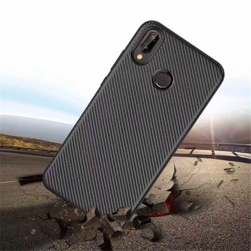Роскошные мягкие силиконовые волокно задняя крышка чехол для телефона для huawei P20 Pro P30 Lite Nova 3i 3e 4 4e Y5 Y6 Y7 Y9 2018 2019 P Smart плюс Чехол