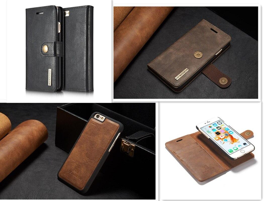 ea1c7f5c2 Xingduo de cuero clásico Flip frontal de la cubierta de la cartera de la  tarjeta para iPhone 6/6 s 6 más 6 splus 7 7 más