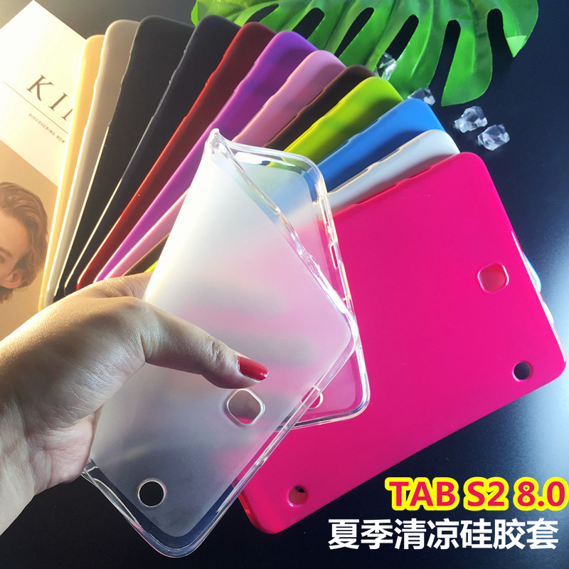 Case For Samsung Galaxy Tab S2 8.0 T710 T715 T715C T713 T719 tablet case clear soft Silicone TPU Back Cover case new x line soft clear tpu case gel back cover for samsung galaxy tab s2 s 2 ii sii 8 0 tablet case t715 t710 t715c silicon case