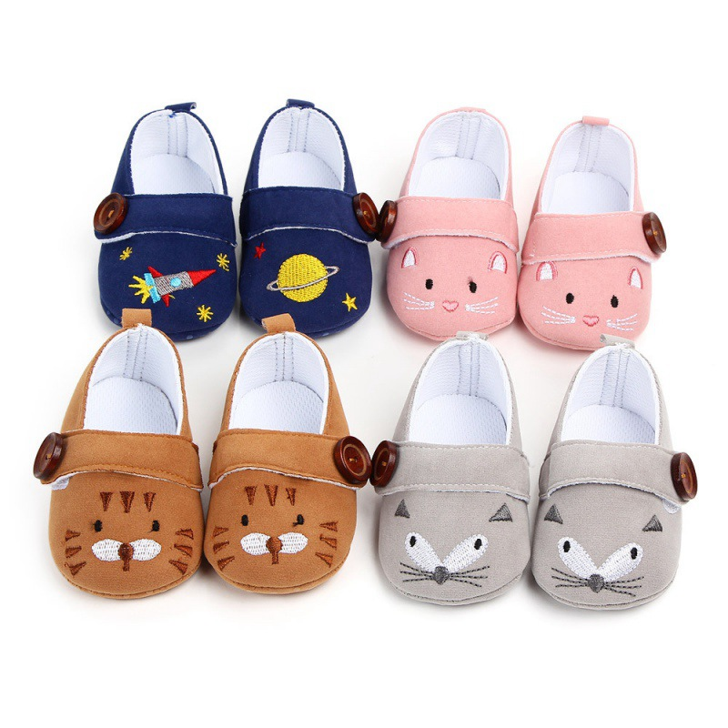 Cute Baby Girl Shoes Princess Polka Dots Soft Cotton Toddler Crib Infant Little Kid Sole Anti-slip Warm First Walker