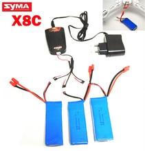 Syma X8 X8A X8C X8C 1 X8W 7 4v 2000mah spare parts LiPo font b battery
