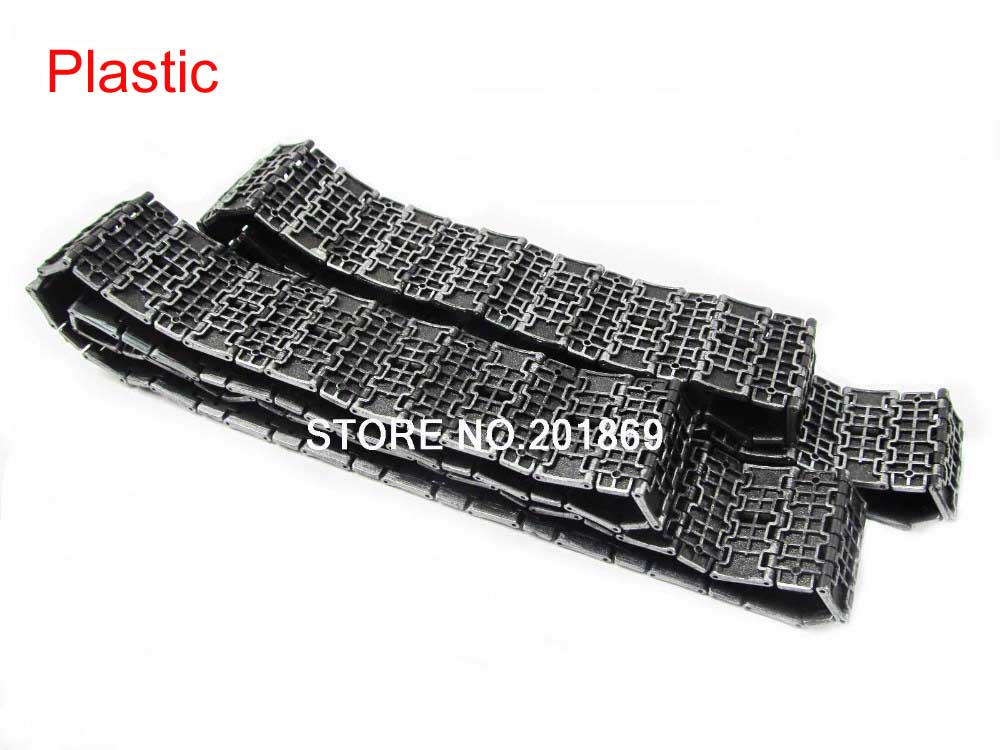 HENGLONG 1:16 1/16 plastic tracks for Heng Long TK-PC3909 Russian T34/85 rc tank toy parts