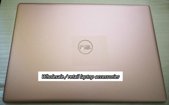 For Dell Inspiron 13 7370 Pink Laptop Top Case LCD Cover Back Cover Rear Lid A Shell 0HF3P7 HF3P7