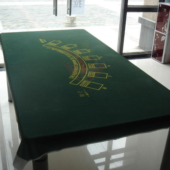 WP-006  Professional Water Resistant Poker Table Cloth,  Casino Layout Game Cloth 1PC wp 001 professional water resistant poker table cloth casino layout game cloth