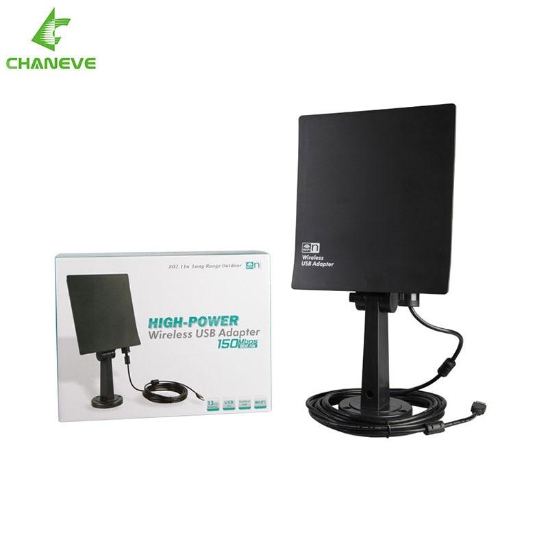 High Power CE NT900 20DBI USB Wireless Wifi Adaptor long range outdoor wifi antenna 150Mbps with