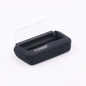 Image 4 - Eanop新規スマートミラーhudディスプレイobd2ゲージフロントガラス速度プロジェクター速度超過アラーム電圧水温度モニタ