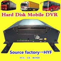 Source Factory HD 4 Channel H.264 Car DVR 720P Car Video Recorder AHD Vehicle Monitor VCR