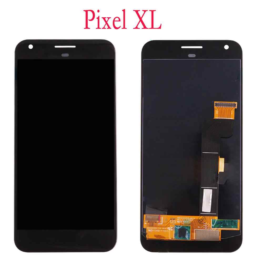 AMOLED untuk Google Pixel 2 3 3A XL LCD Display Rakitan Digitizer Layar Sentuh Pengganti Google Pixel XL 2XL 3XL 3AXL