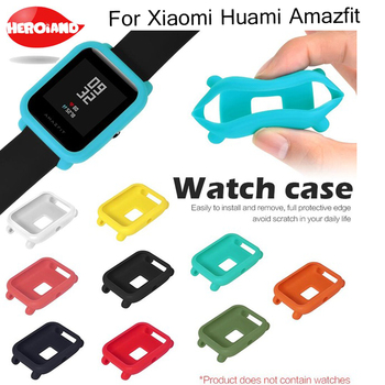Soft Protector Case Cover for Xiaomi Amazfit Bip BIT PACE Lite Youth Protect Watch Frame Shell For Xiaomi Huami Amazfit Watch