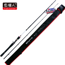 Super Quanlity Casting Rod 98% Carbon Fiber Telescopic 2.13M Fishing Travel Rod Tackle MH Power Fast Action