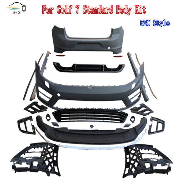Auto Racing Car Styling kit PP Material kit for VW Golf 7 ... on fiat x1 9 racing, trailer racing, tiller racing, hutch racing, eagle racing, wheelchair racing, golf carts 380, mini cooper racing, golf carts vehicle, golf carts 4 sale, triumph racing, tractor racing, atv racing, golf carts for 500 dollars, bmw racing,