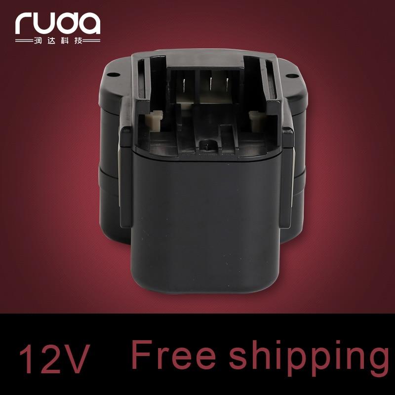 for AEG 12VA 1300mAh/1.3Ah power tool battery 48-11-1900, 48-11-1950, 48-11-1960, AEG48-11-1967,48-11-1970, B12, MXL12,0501-20