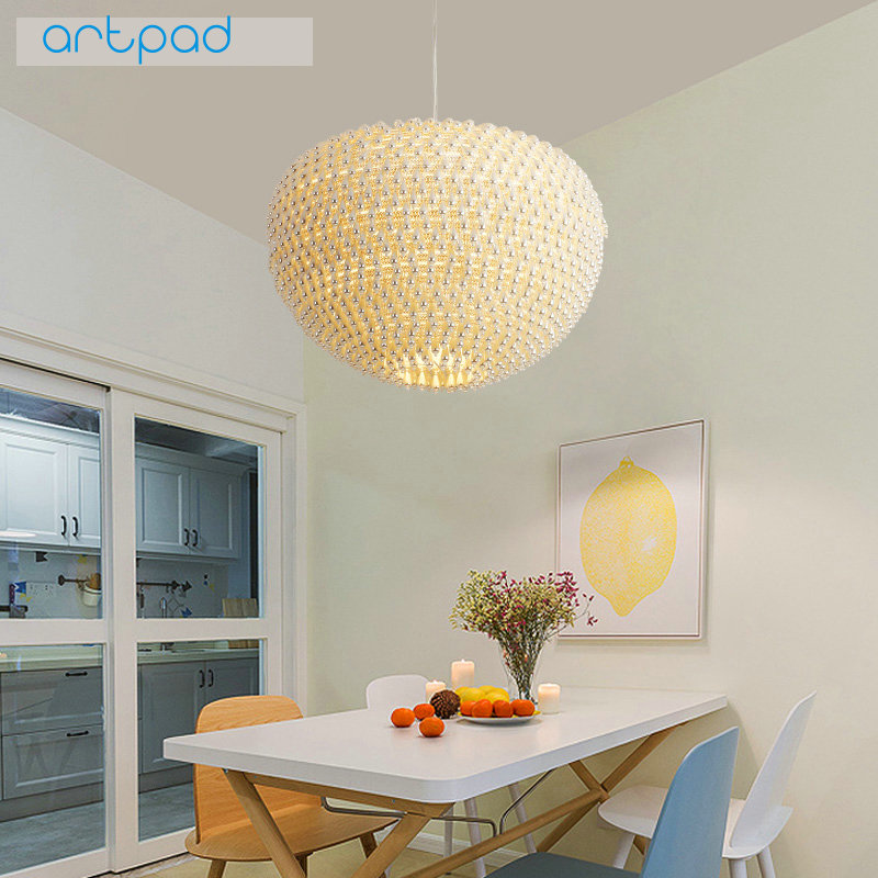 Artpad Creative Nordic Pendant Lights AC 110V-220V Art Design LED Hanging Lamps for Living Room Children Bedroom Dining Room nordic style modern minimalist creative hanging lights bar living room lamps dining room bedroom pendant lights
