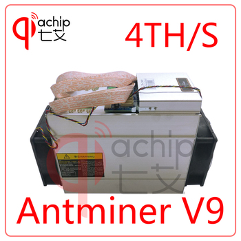 New AntMiner V9 4T 4th/s Bitcoin Miner Asic Miner Btc Miner Bitcoin Better than AntMiner S9 WhatsMiner M3 T9+ E9
