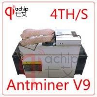 New AntMiner V9 4T 4th S Bitcoin Miner Asic Miner Btc Miner Bitcoin Better Than AntMiner