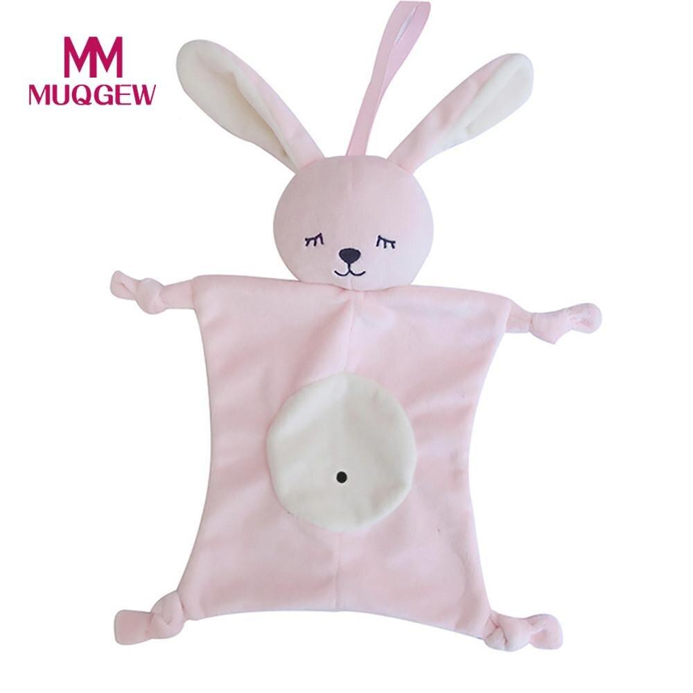 Baby Kids Comforting Plush Toy Cotton Blend Animal Doll Multifunctional Sleep Children Mouth Towel #3