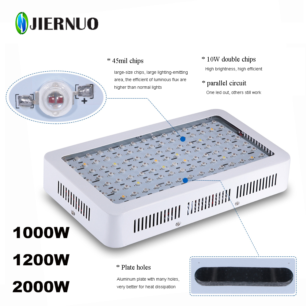 2017 jiernuo led grow light 1200w 2000w 1000w double chips fitolampa rh aliexpress com High Intensity Light LED Stick