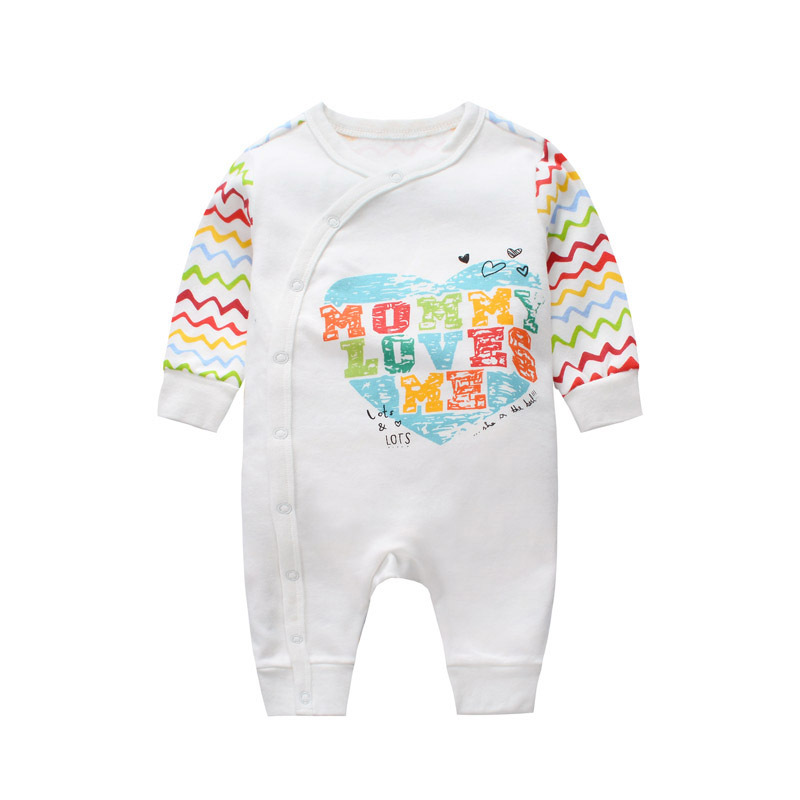 Cuikevin Baby Rompers 2018 New Newborn Clothes Baby Cotton Girl Romper Long-Sleeve Baby Product Rompers Costume Baby Boy Clothes summer newborn baby rompers ruffle baby girl clothes princess baby girls romper with headband costume overalls baby clothes