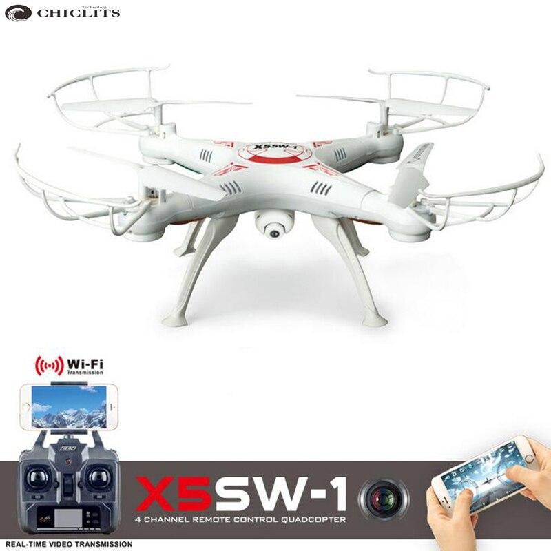 X5SW-1 Plantom Drone Camera Quadrocopter Dron Drohne WIFI Drone FPV WIFI Camera Drones With Camera HD WIFI Remote Control