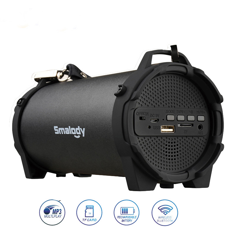 10W Power Bluetooth Speaker Portable Outdoor Sound Box Wireless Audio Smalody Subwoofer Music Column USB TF AUX Fm Raido Boombox