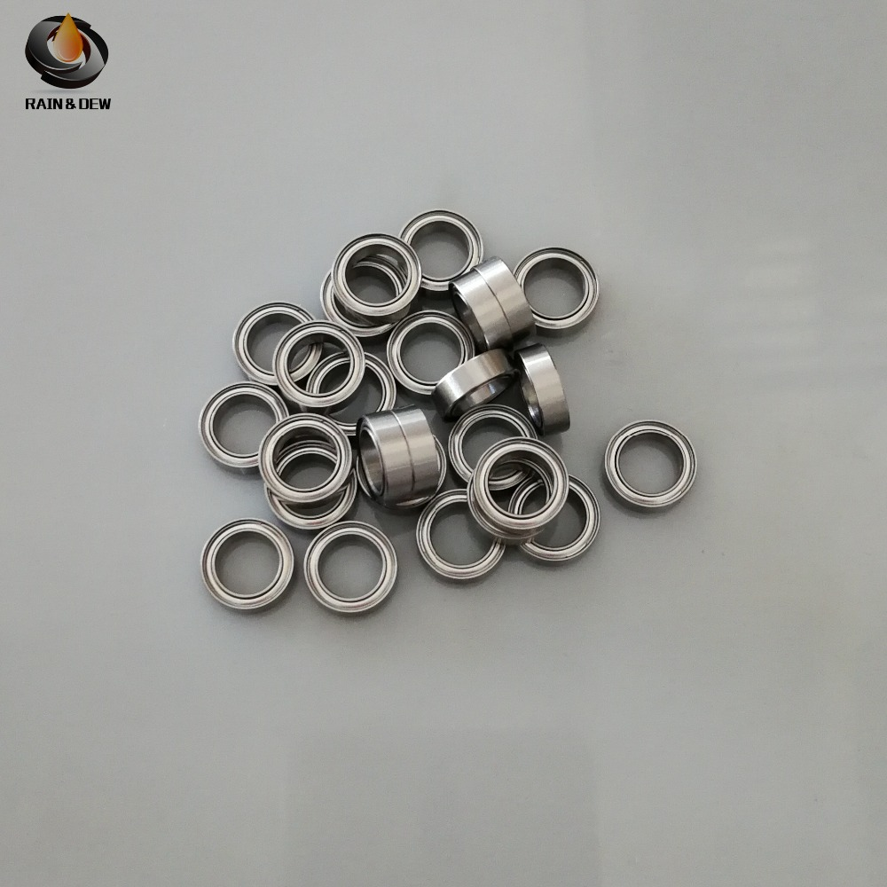 <font><b>MR128ZZ</b></font> ABEC-7 (10PCS) 8X12X3.5mm Miniature Ball Bearings <font><b>MR128ZZ</b></font> image