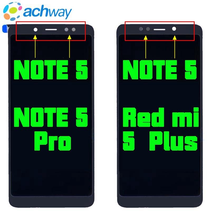 Xiaomi Redmi 5 Plus LCD Display + Touchscreen FHD 5,99