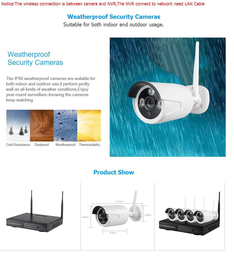 Camera NVR Kit 4CH 11