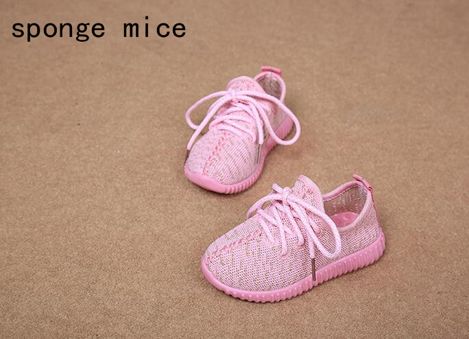 2017-sponge-mice-brand-children-boys-and-girls-breathable-LED-light-shoes-casual-shoes-4