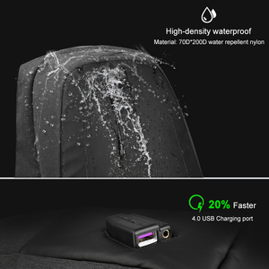Image 4 - Tigernu Fashion Women Casual Backpack Anti Theft 15.6 inch Laptop Waterproof Men USB Charging Travel High Quality Backpacks Bags