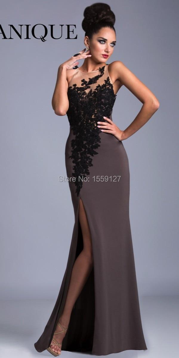 Brown Evening Dress