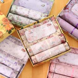 Корейская версия прекрасные цветы Красивая Цвет канцелярские изысканный элегантный предусмотрена Романтический праздник конверты