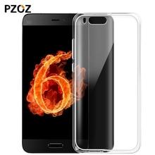 Pzoz xiaomi mi6 case original transparent Silicone shell mi 6 cover xiomi mi6 xaomi mi 6 tpu 4gb 6gb Snapdragon 835 capas 5.15″