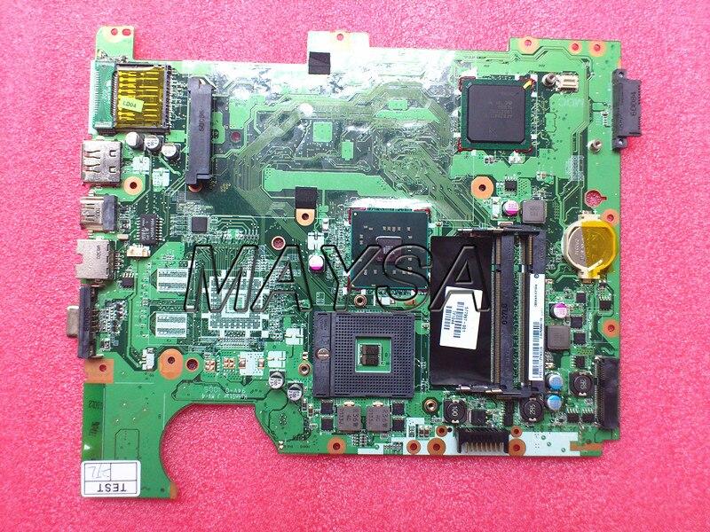 Original 577997-001 DA00P6MB6D0 main board fit for HP G61 CQ61 Laptop motherboar GL40 DDR2 give cpu free 577997 001 da00p6mb6d0 for hp g61 cq61 motherboard gl40 ddr2 motherboard tested good free shipping