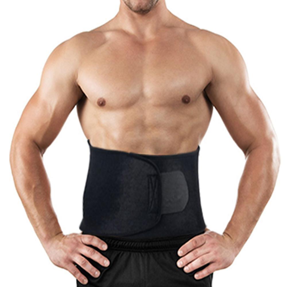 APTOCO Adjustable Waist Trimmer Exercise Sweat Belt Fat Burner Shaper Slimming Lose Weight Body Burn Cellulite for Men Women 3