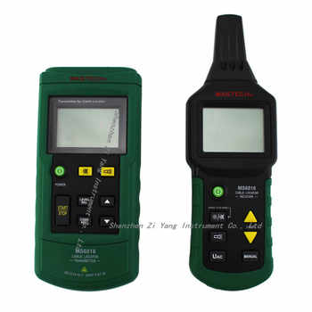 DHL shipping MS6818 Cable detector Wire Cable Metal Pipe Locator Detector Tracker Finder Metal Pipe Locator Meter AC/DC 12~400V
