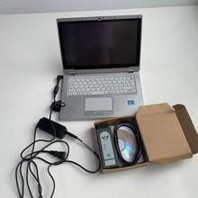 Планшет CF-AX2 I5 8G ноутбук Мини SSD OKI VAS6154 беспроводной полный чип O-dis E-lsawin автомобильный диагностический инструмент автоматический сканер allready