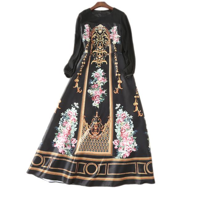 Bohe palace long maxi dress