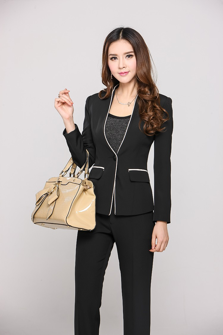 Formal Womens Business Suits with Pant and Jacket Sets ...